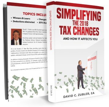 Simplifying The 2018 Tax Changes