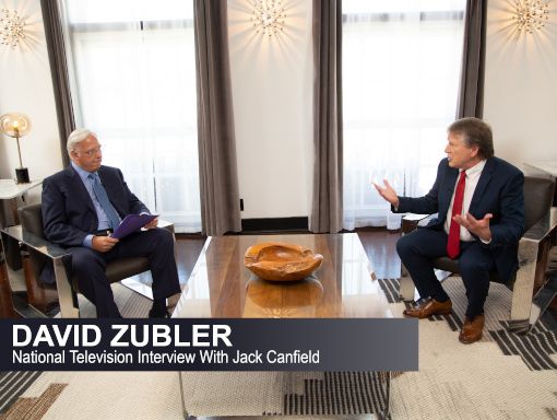 David Zubler speaks with David Canfield on TV